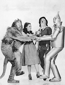 Characters from The Wizard of Oz.