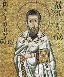 Mosaic image of Dionysius the Areopagite